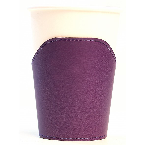 Cup Leather Sleeve