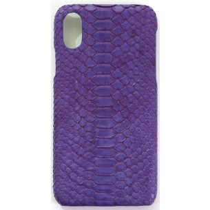 "IPHONE ""X"" COVER Python Leather"